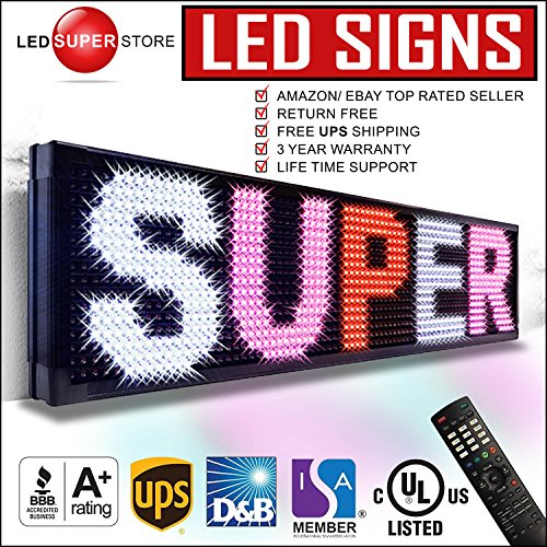 - LED SUPER STORE: 3Color/RWP/P20mm/IR - 15