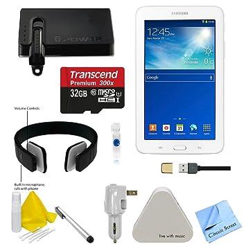 Amazon.com: Samsung SMT 110 smt-110 Color Blanco Tablet con ...