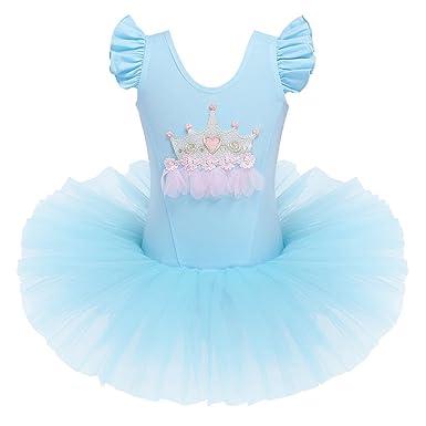 db1861cf1 Amazon.com  BAOHULU Little Girls Leotards Dance Ballet Tutu Princess ...