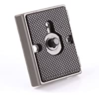 "FOTGA Aluminum Quick Release Plate 1/4"" Screw Fit for Bogen 3157N Manfrotto 200PL-14 RC2 3030 3130 for Ballhead Tripod Camera"