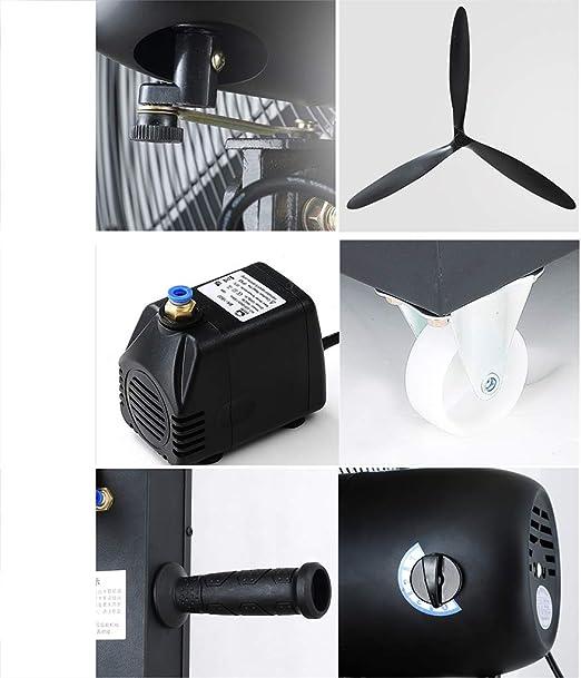 Ventilador del acondicionador de aire Ventilador de pulverización ...