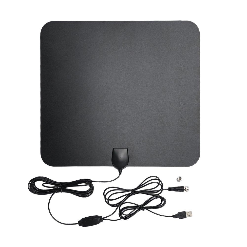 Haihuic Antena de TV de 50 Millas Amplificador de señal de ...