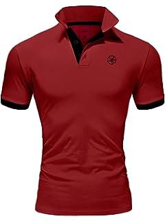 Herren Hemd Freizeithemd Poloshirt Fitness Kragen Kurzarm Polohemd T-Shirt Bluse