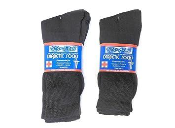 578cfb02ae0 Image Unavailable. Image not available for. Color  6 Pair 90% Cotton Blend  Diabetic Socks Men s Women s ...