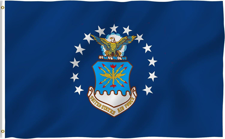 Air Force Flag 3x5ft Poly U.S