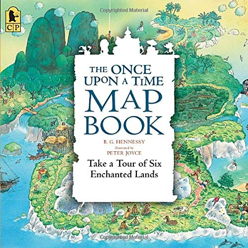 Download The Once Upon a Time Map Book Big Book: Take a Tour of Six Enchanted Lands pdf epub