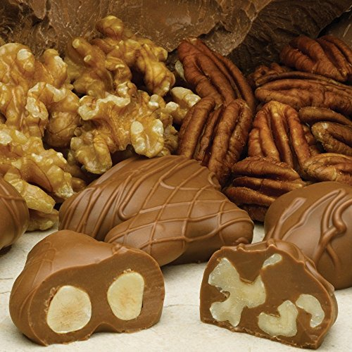 Chocolate Pecan Clusters Dunmore Candy Kitchen: Philadelphia Candies Milk Chocolate Covered Assorted Nuts