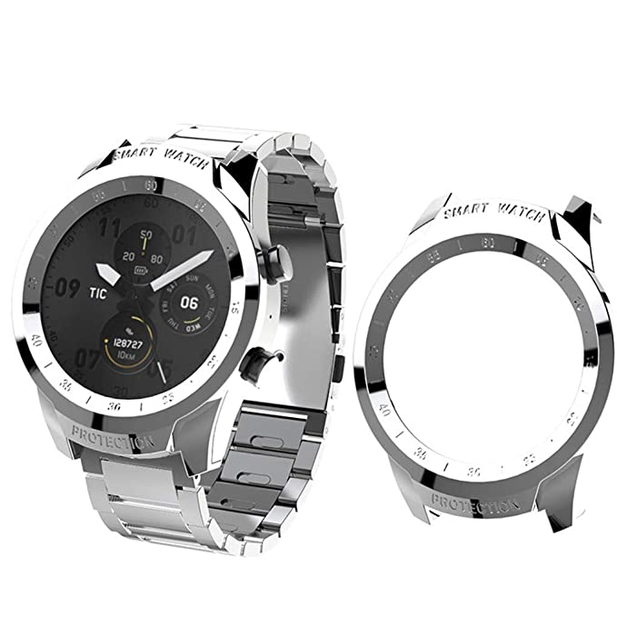 BASSK Smartwatch Proteger Shell Protector Funda para Ticwatch Pro ...