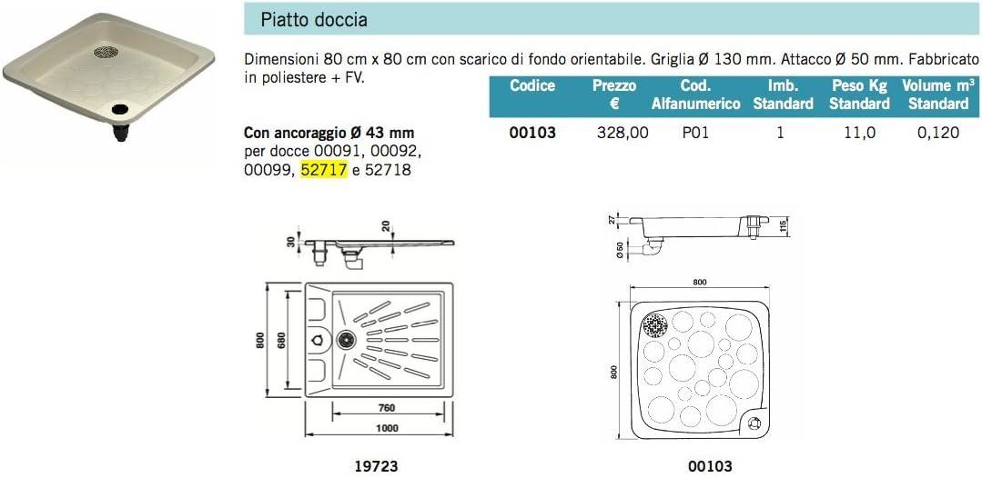LordsWorld - Astralpool - 52717 Ángel Piscina Ducha con un Grifo y ...