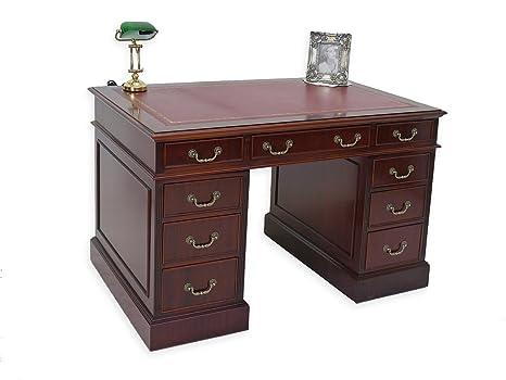 Ufficio Stile Inglese : Scrivania computer tavolo ufficio tavolo in legno di mogano in