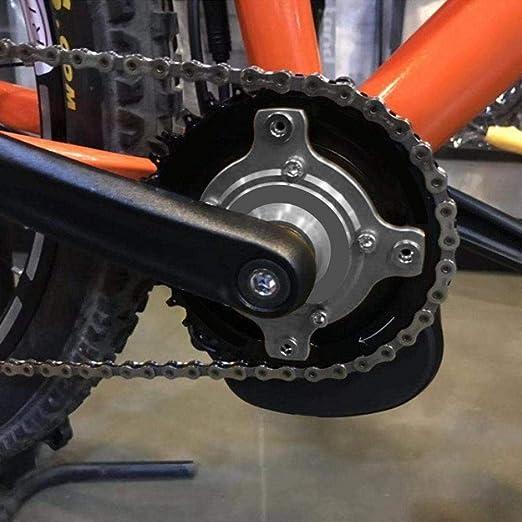 VGEBY Plato de Bicicleta CNC 104 BCD Adaptador de Rueda de Cadena ...