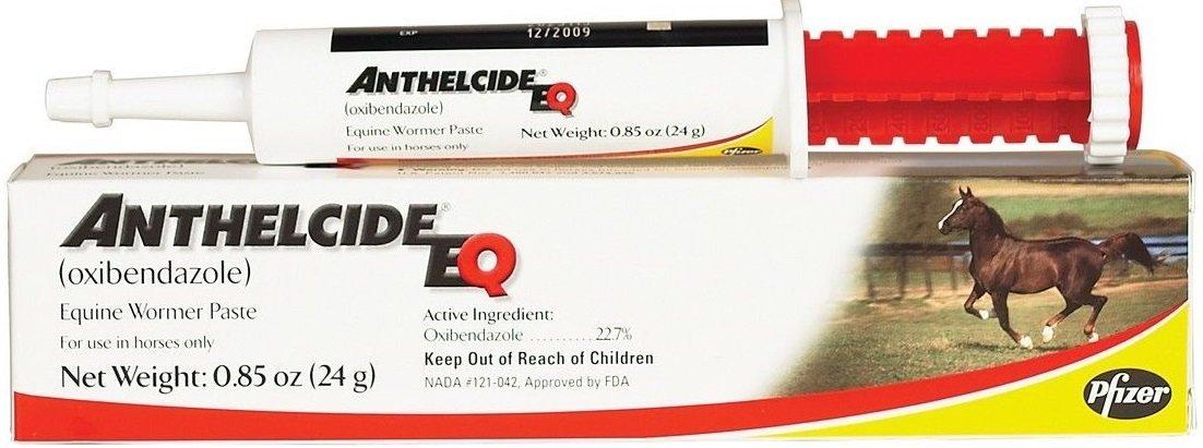 Pfizer Anthelcide EQ Equine Wormer Paste De-Wormer Horse (1 Tube)