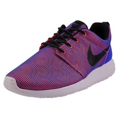 super popular 843c1 e20b0 Nike Roshe One Premium Plus Men s Running Shoes 807611-407 Racer Blue Black