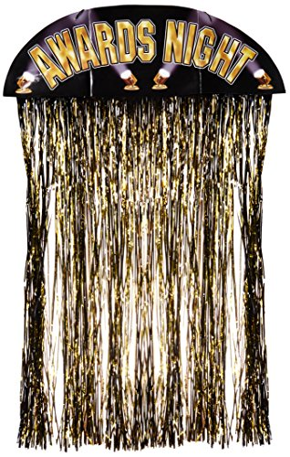 Beistle 50119 Awards Night Door Curtain, 4-Feet 6-Inch by -