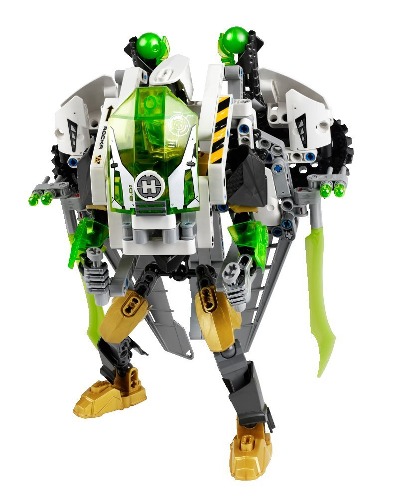 amazoncom lego hero factory jet rocka with detachable jetpack accessories 44014 toys games