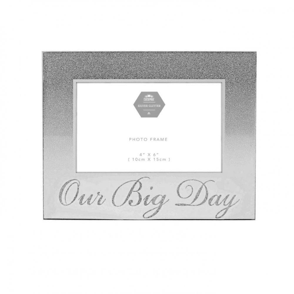 Amazon.de: Leonardo Unsere Big Tag - Hochzeit Silber Spiegel ...