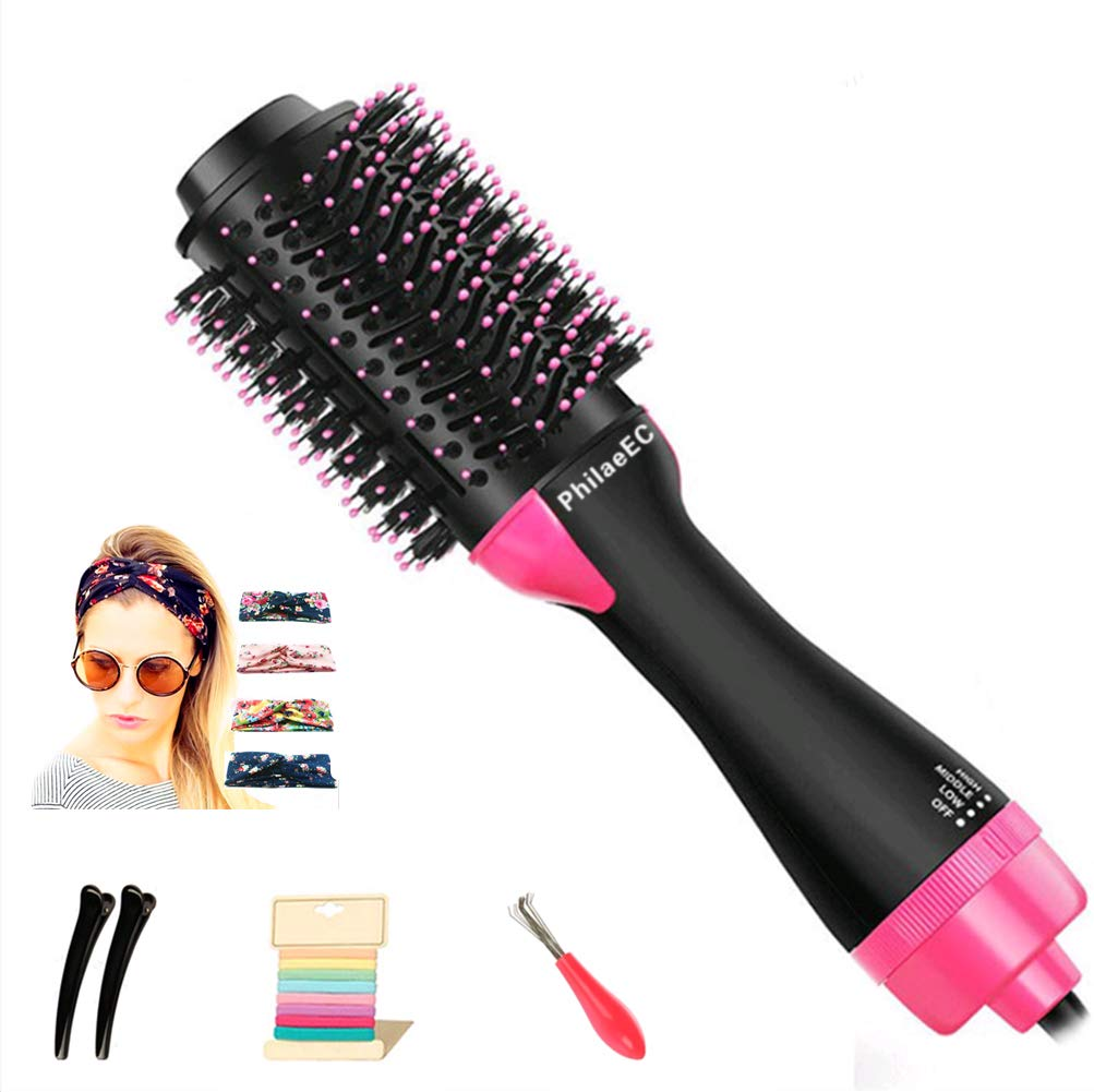 Hair Dryer Brush in One Hair Straightener Brush One Step Hair Dryer & Volumizer 3 in 1 Hot Air Brush