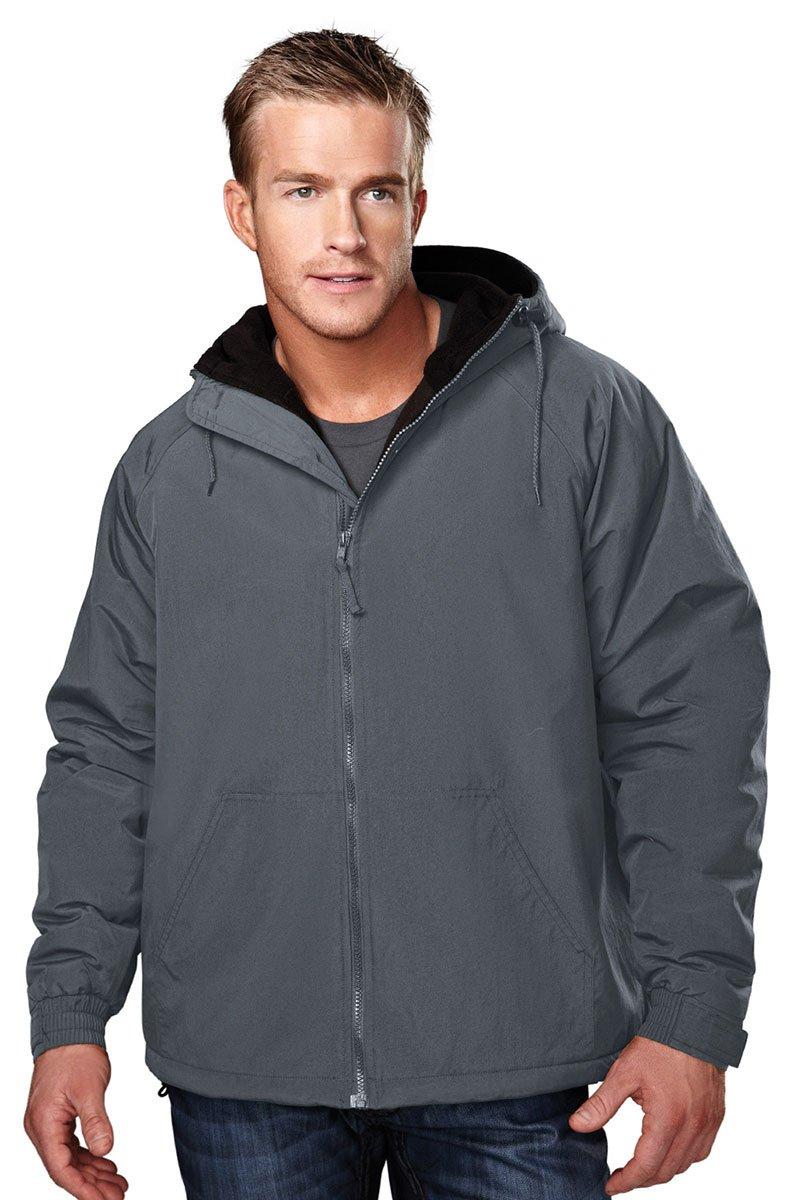 Tri Mountain Heavyweight Toughlan Nylon Hooded Jacket - 8480 Conqueror