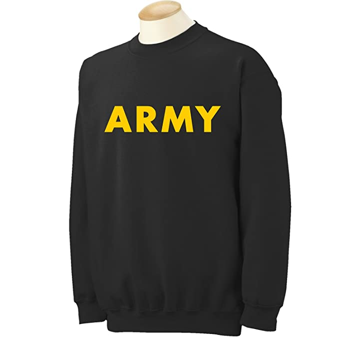 Amazon.com  ZeroGravitee Military T-Shirts - Gold Army Logo T-Shirts ... ec98e9063