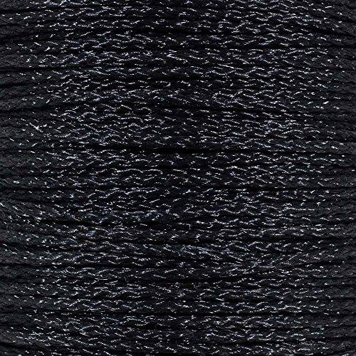 Golberg - Cuerda de polipropileno trenzado hueca en color negro - Variedad de diámetros y longitudes a elegir, 3 metros (10...