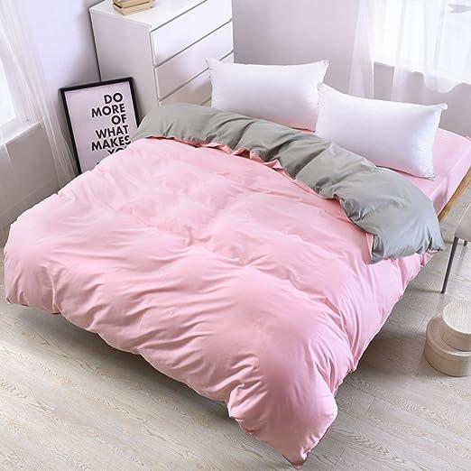 UP&sleep 100% algodón edredón Conjunto Reversible,Ultra Soft ...
