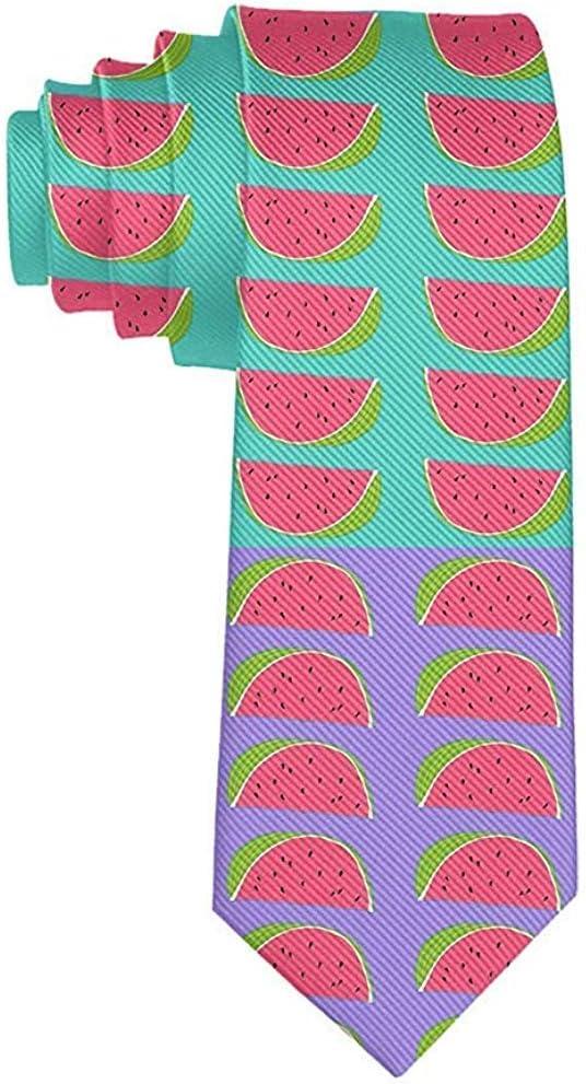 Corbatas Corbatas Divertidas Sandías Frutas Moda Novedades ...