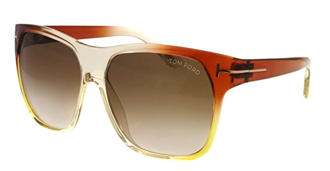 be39952880 Image Unavailable. Image not available for. Colour  Tom Ford FT 0188 95F  Federico Brown Beige Sunglasses