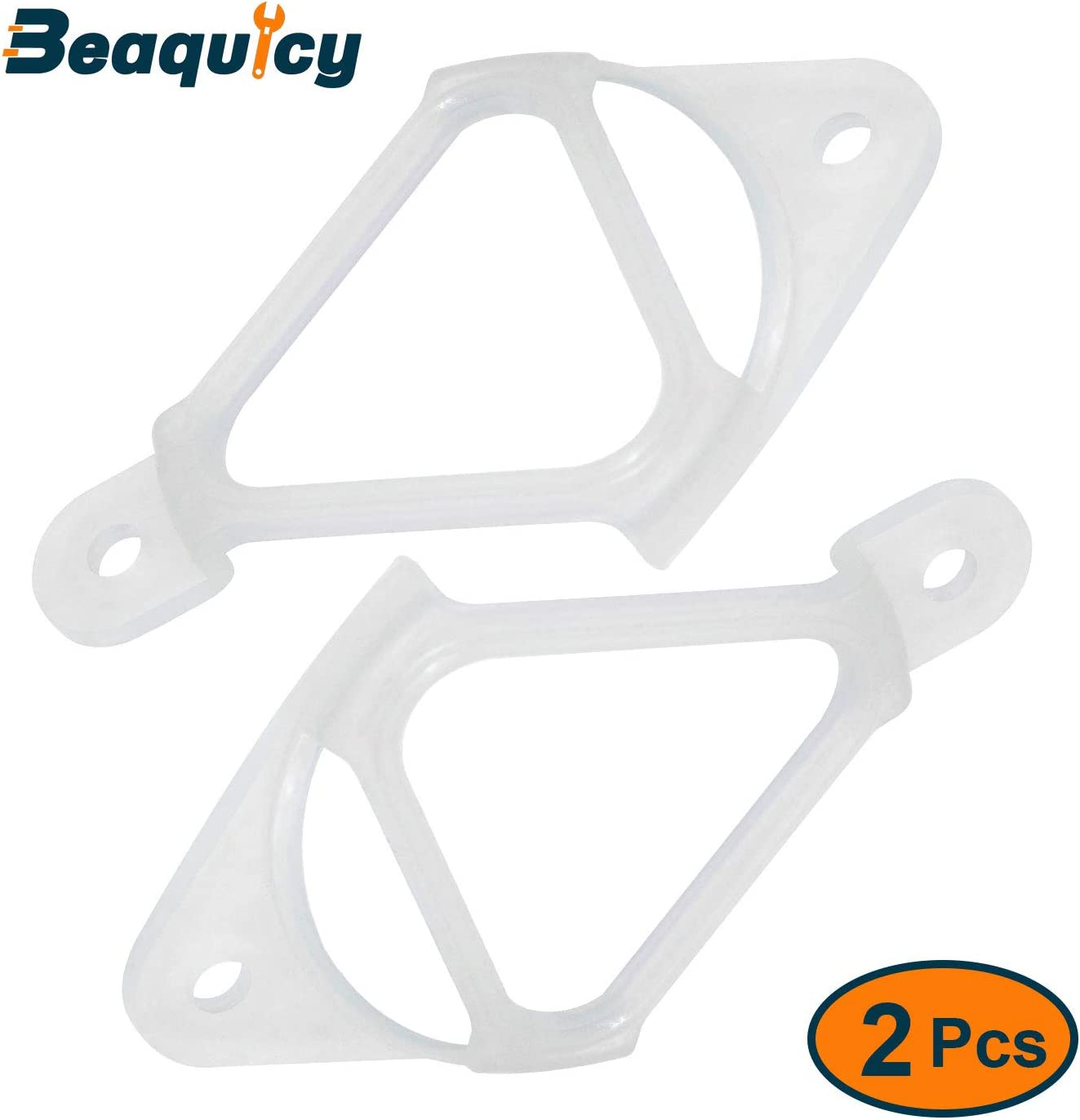 Beaquicy WH16X513 Drain Hose Clip for Washing Machine - Replacement for Ge and Hotpoint Washer - Pack of 2