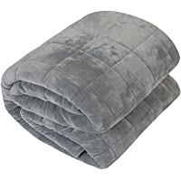 YnM Weighted Blanket by, Fall Asleep Faster and Sleep Better, Great for Anxiety, ADHD, Autism, OCD, and Sensory Processing Disorder, Various Sizes and Colors Available for Adults and Children