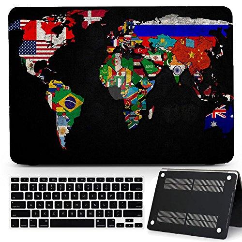 Bizcustom World Customized Rubberized MacBook