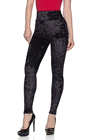 6daabdc1784 Cemi Ceri Women's J2 Love Velvet High Waist Leggings at Amazon ...