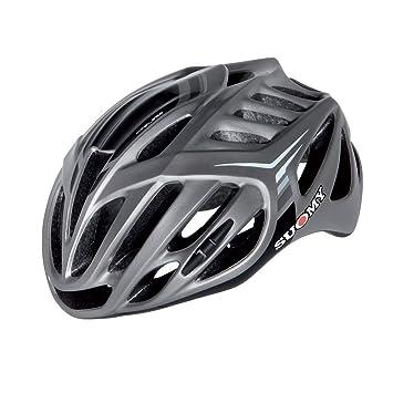 SUOMY Casco Bicicleta Timeless Silver/3 Gris Talla M (Cascos MTB y carretera)