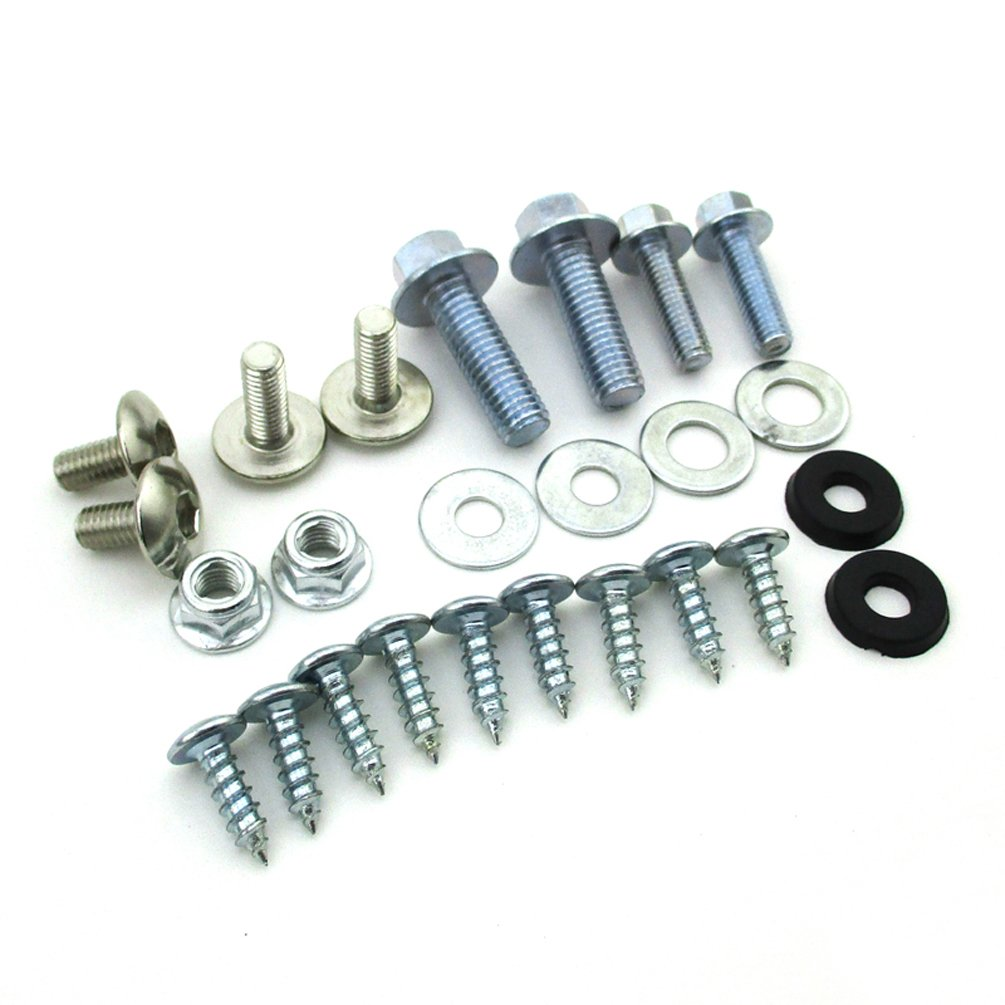 XLJOY Plastic Panel Bolts Fairing Tank Screw for 110cc 125cc 140cc Chinese Pit Dirt Bike CRF50 SSR IMR