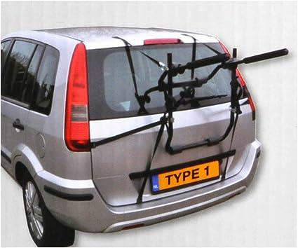 Soporte de bicicleta para portabicicletas-tronco de coche 2 ...