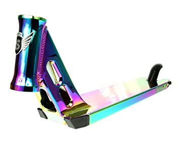 Longway Sector Scooter Deck (520mm - Neochrome): Amazon.es ...