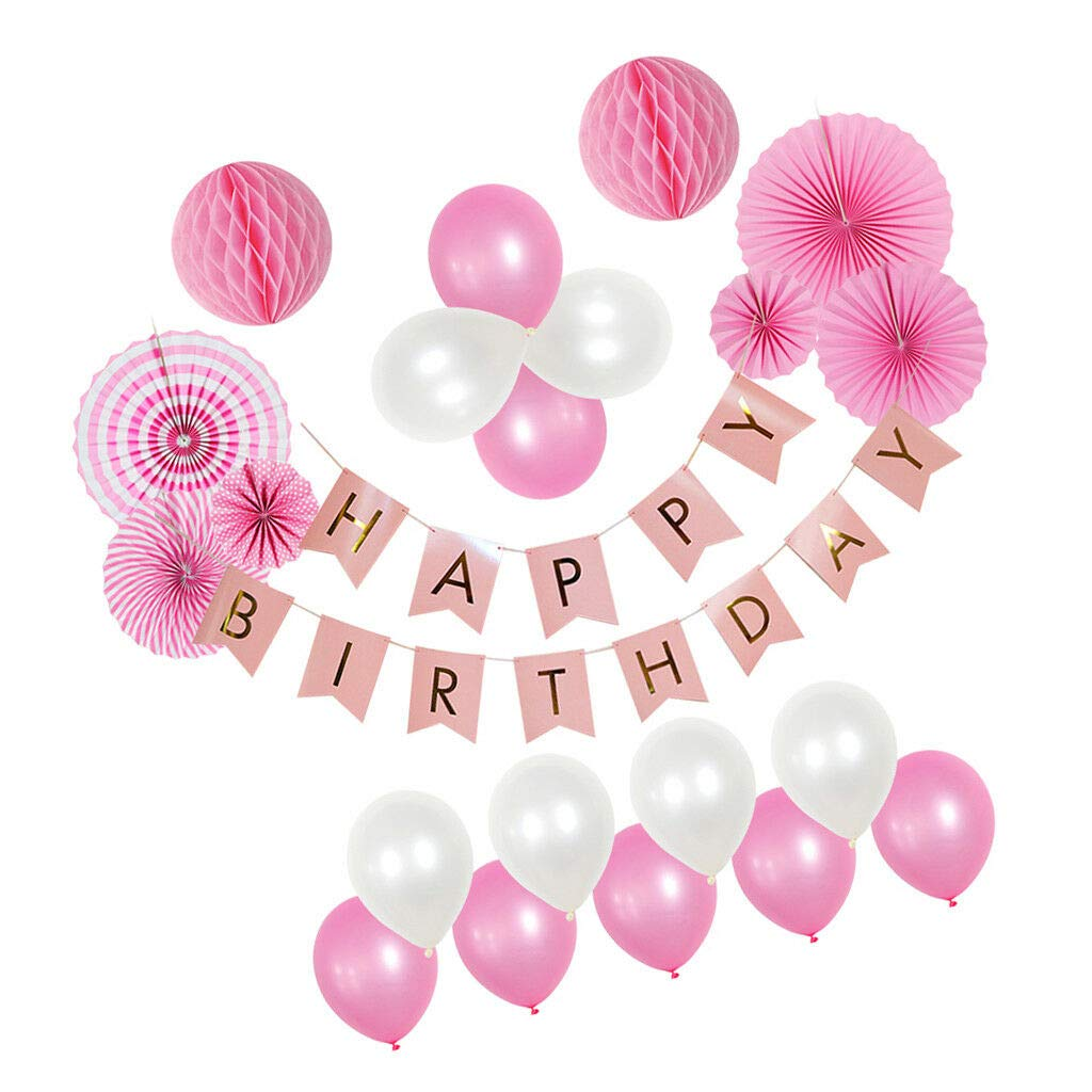 Birthday Decoration Set Happy Birthday Banner - Birthday Party Supplies