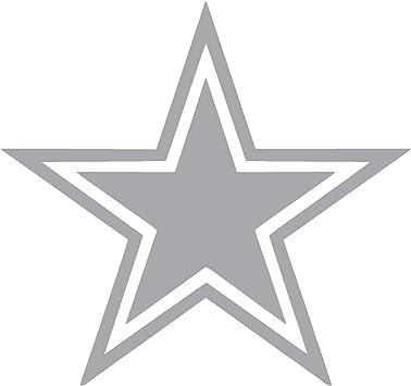 Dallas Cowboys Vinyl Star Decal//Sticker Blue 5.5 Inches