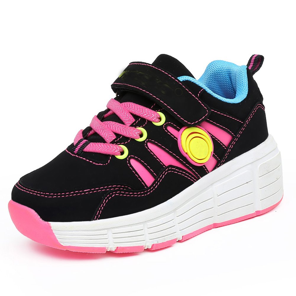 Amazon.com | jlt Children Sneaker with Wheel LED Lighted Roller Skates Kids Boy Girl Shoes Zapatillas Con Ruedas | Sneakers