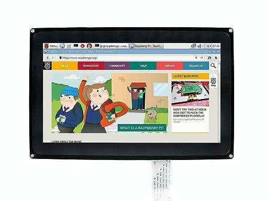 33 opinioni per Makibes 10.1 pollici 1024 x 600 HDMI LCD touch screen capacitivo, monitor del