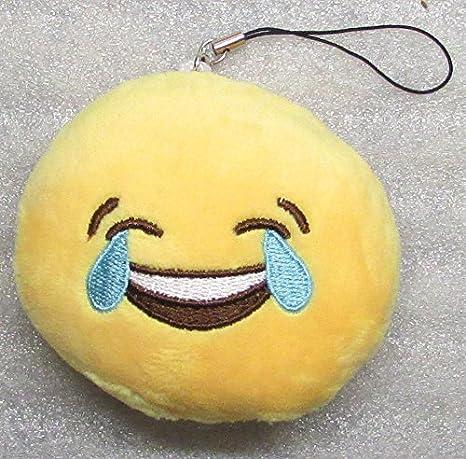 Amazon.com: Emoji 3 in CRYING Emoticon SMILING Soft Cloth ...
