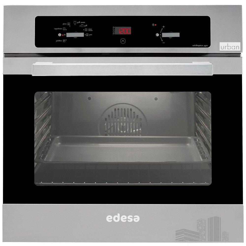 Edesa URBAN-HP100 X - Horno (51L, Eléctrico, 35-275 °C, Independiente, Acero inoxidable, Botones): Amazon.es: Hogar