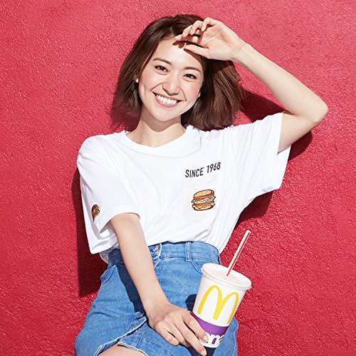 マクドナルド × BEAMS バーガー Tシャツ Lサイズ AKB 大島優子 ビームス ビッグマックの商品画像
