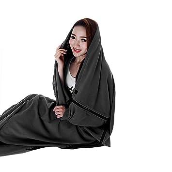 Lana Forro de Sacos de Dormir Dotación de Cámping Sacos de Dormir Bolsas de Pijamas Manta