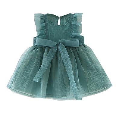 0b4400f1abc3b Lolittas Newest Infant Toddler Baby Girls  Dress Tutu Princess Bowtie Dress