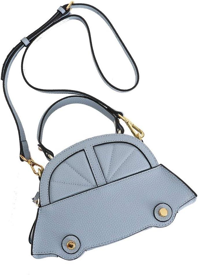 YUKILO Womens Leather Crossbody Bag Designer Shoulder Bag Satchel Ladies Tote Travel Purse Color : Blue