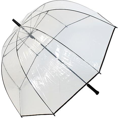 Paraguas con pantalla extragrande de 103cm ytransparente