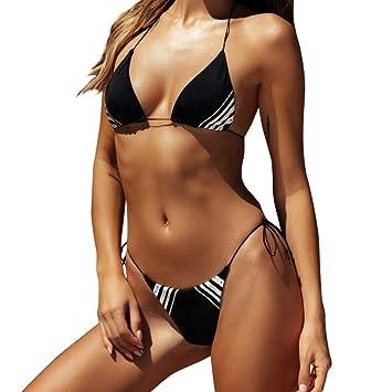 Tejer Traje de baño de Ganchillo Bikini Estilo Bohemia Fuera ...