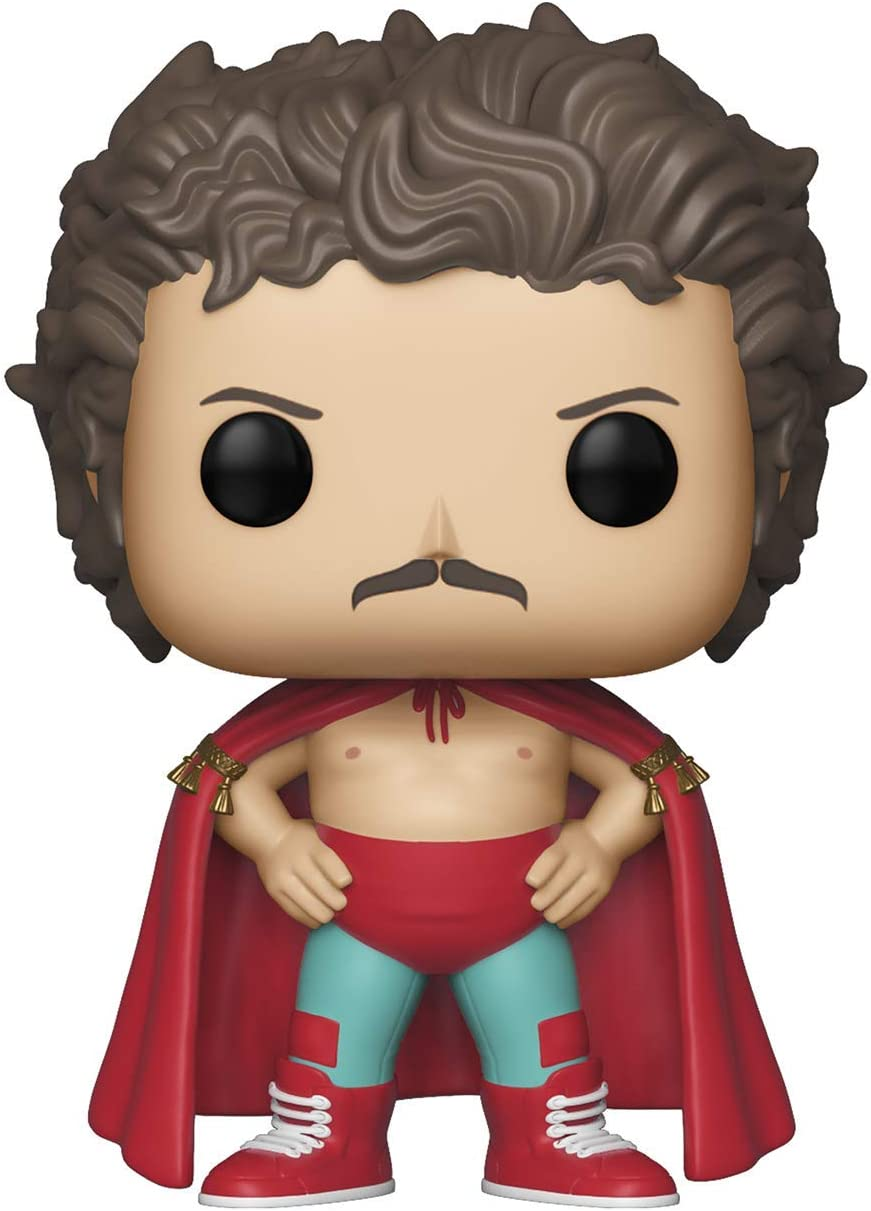 Funko Pop Movies: Nacho Libre - Nacho (Styles May Vary) Toy, Multicolor