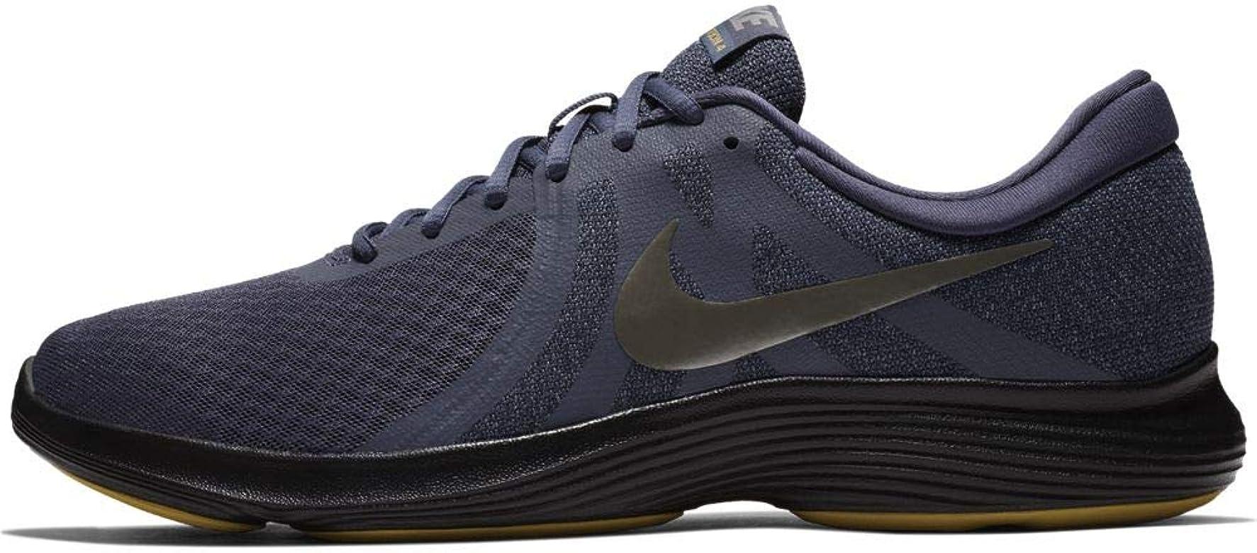 Nike Revolution 4, Zapatillas de Running para Hombre, Multicolor (Gridiron/Mtlc Pewter/Light Carbon/Black 015), 40 EU: Amazon.es: Zapatos y complementos