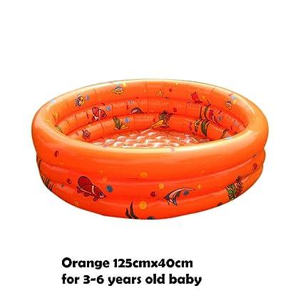 Amazon.com: Treslin - Bañera inflable para bebé con diseño ...